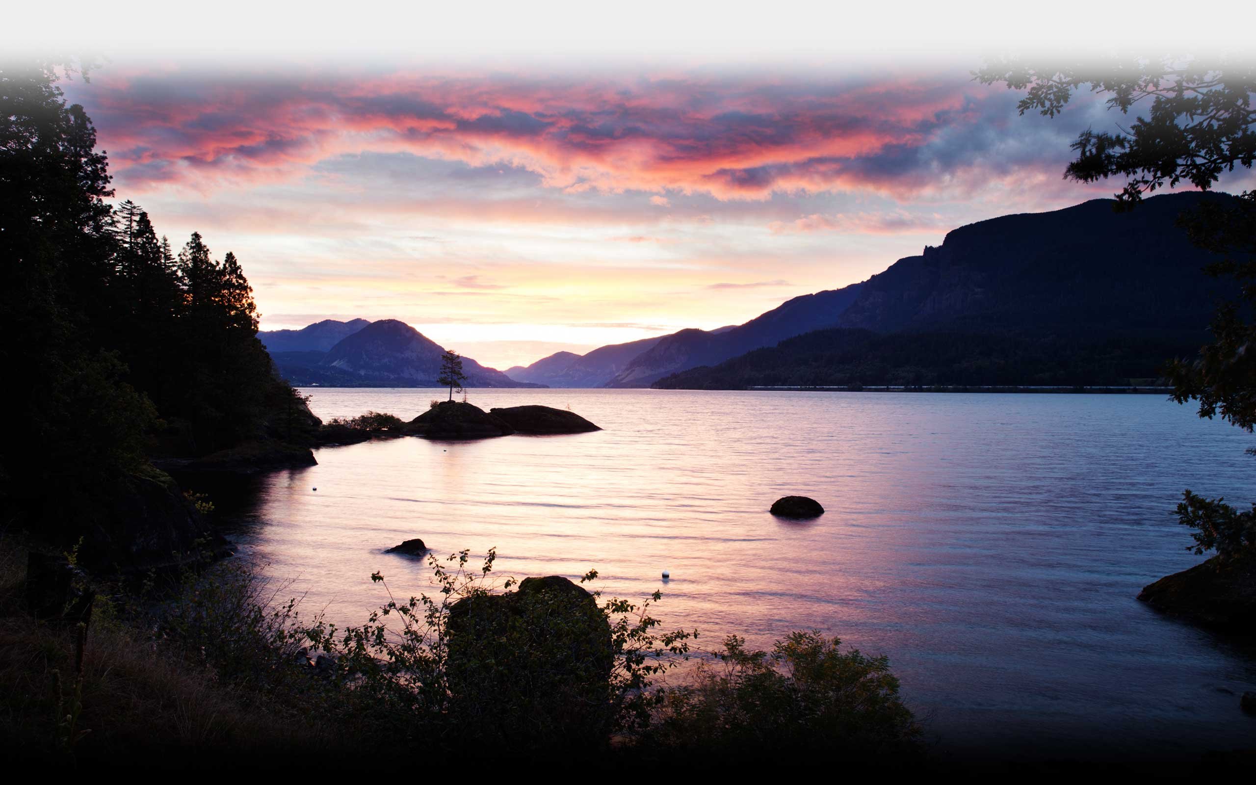 Skamania Coves - Footer Image